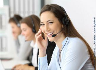 Mit Outboundtelefonie regelmäßig bei Fragen von Kunden zur Hilfe bereit stehen